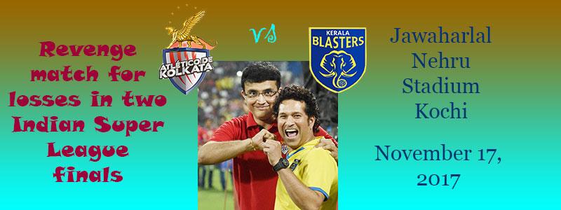 Blasters play Atletico de Kolkata in Kochi ISL opener